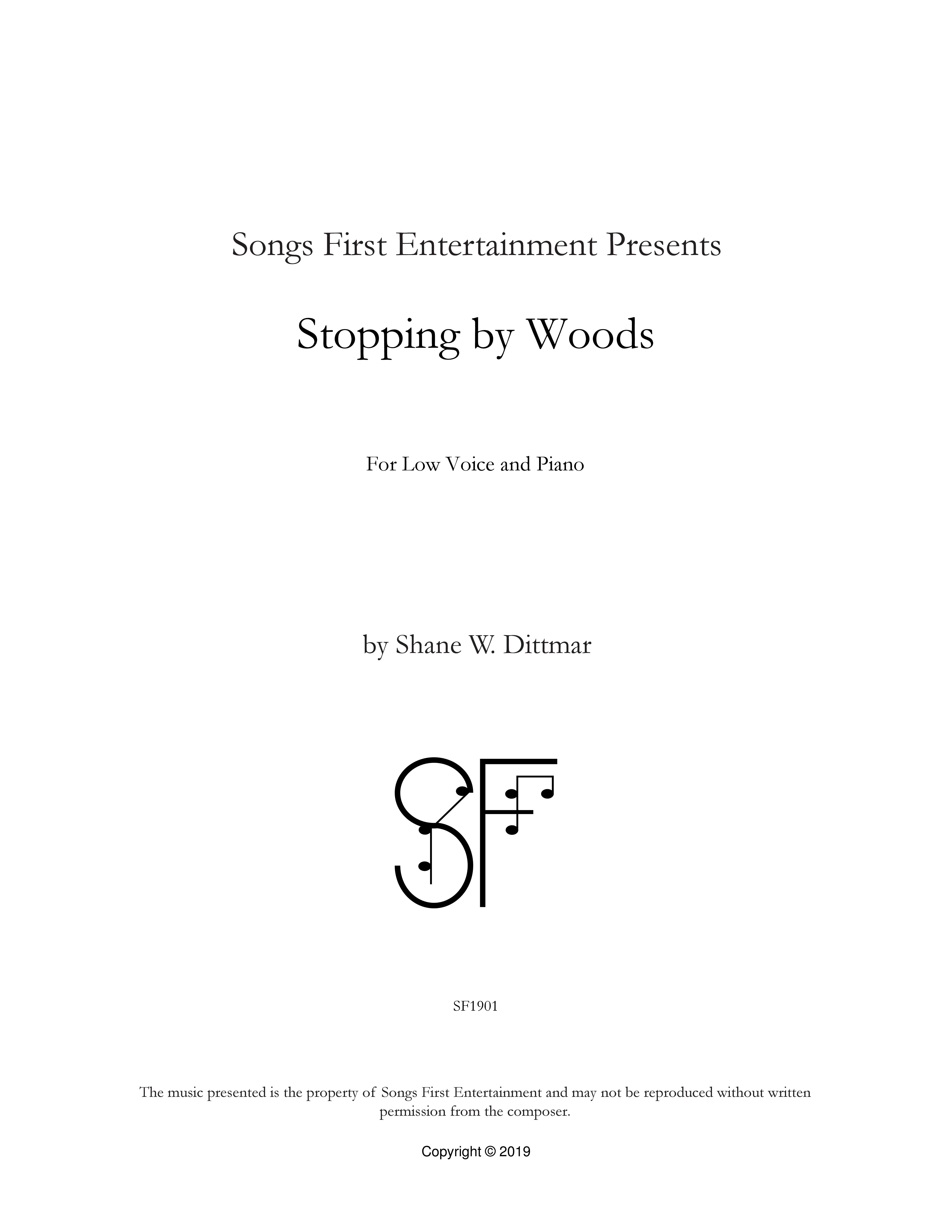 Stopping by Woods (Cover)