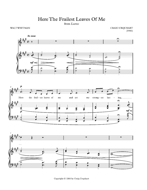 NewMusicShelf Anthology of New Music for Tenor, Vol  1